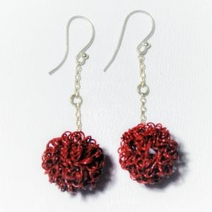 3 for $15 - PomPom earrings